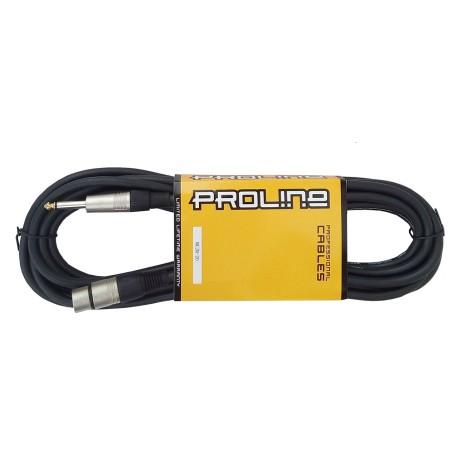 Mikrofonski kabel - XLR - Banana 6,3 -5,5m